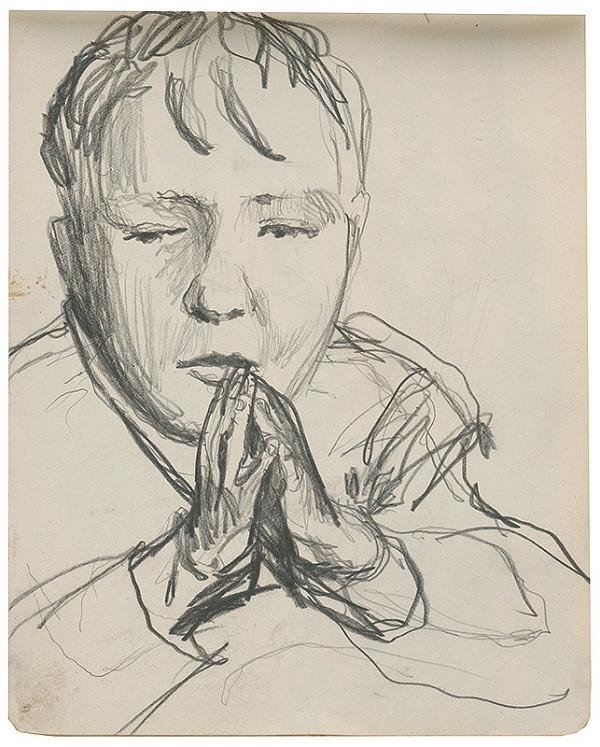 Margita Czóbelová - Náčrt portrétu dieťaťa
