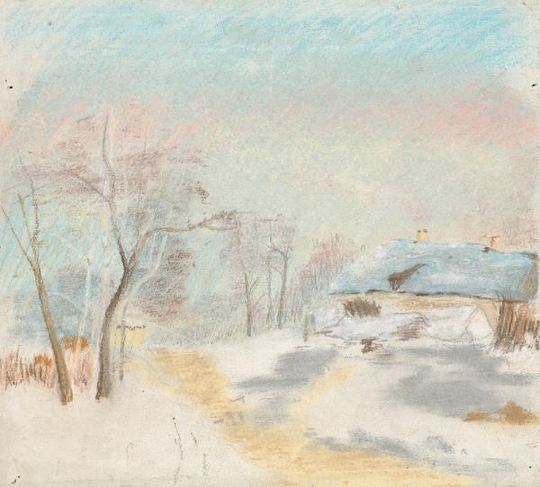 Ladislav Mednyánszky - Zimná krajina