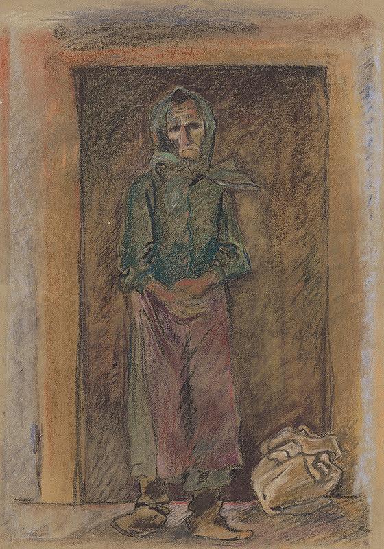 Arnold Peter Weisz-Kubínčan – Old Woman