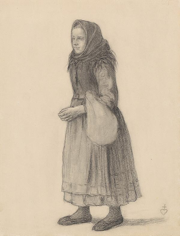 Karol Miloslav Lehotský - Dievča s batôžkom