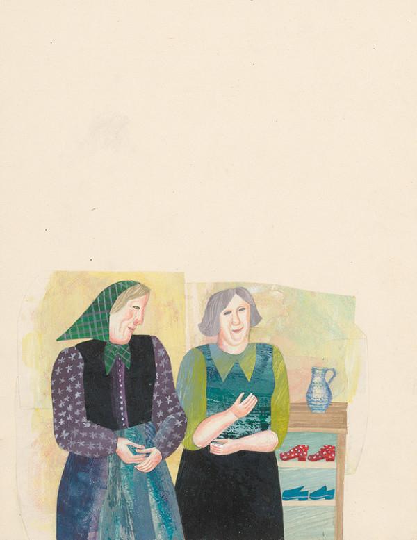 Běla Kolčáková - 7.polstránková ilustrácia ku knihe Pehavý noštek