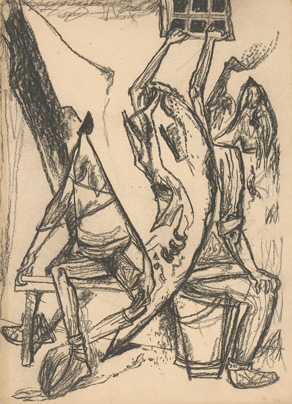 Imrich Weiner-Kráľ - Figurálna kompozícia