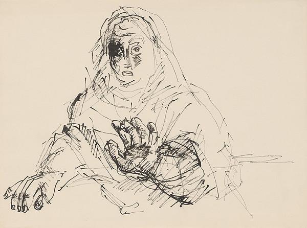 Július Lőrincz – 65. Vojna II. - Žena s predpaženou rukou