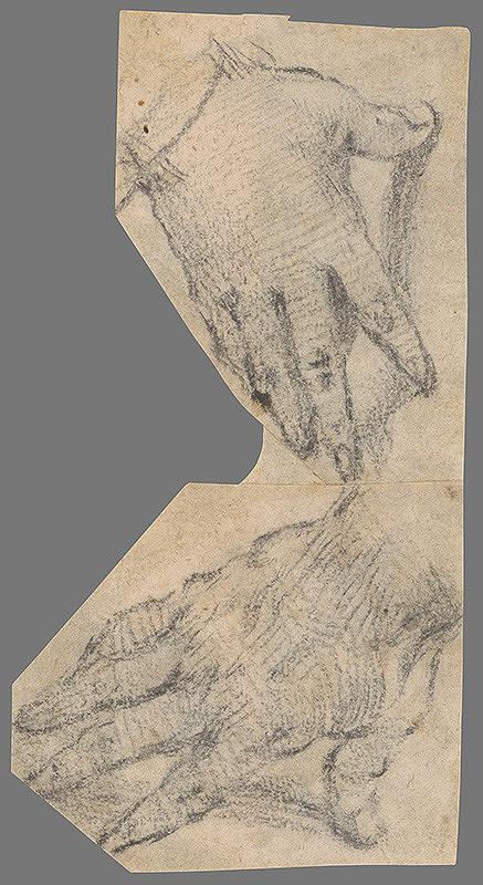 Stredoeurópsky majster z 18. storočia – Hand Study