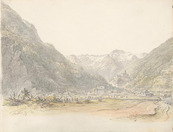 Karol Ľudovít Libay – Pohľad na Taufers