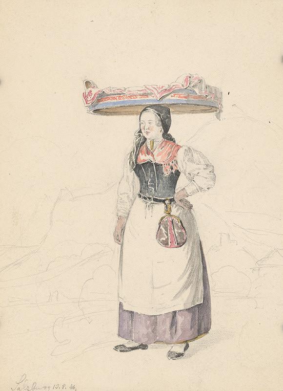 Karol Ľudovít Libay – Žena zo Salzburgu
