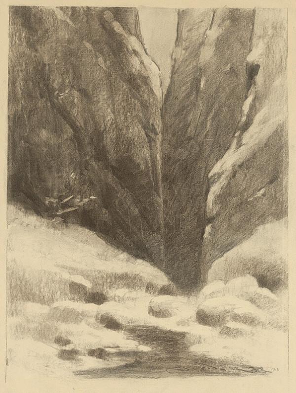 Ľudovít Čordák - First Snow on the Rocks
