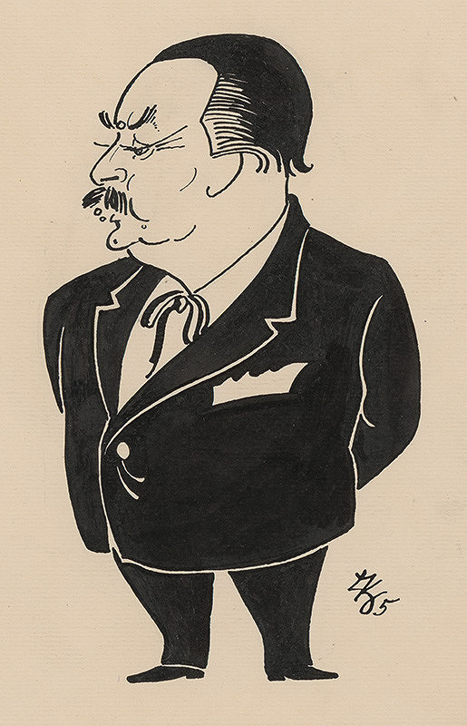 Ľubomír Kellenberger – Karukatúra Adolfa Hoffmeistera