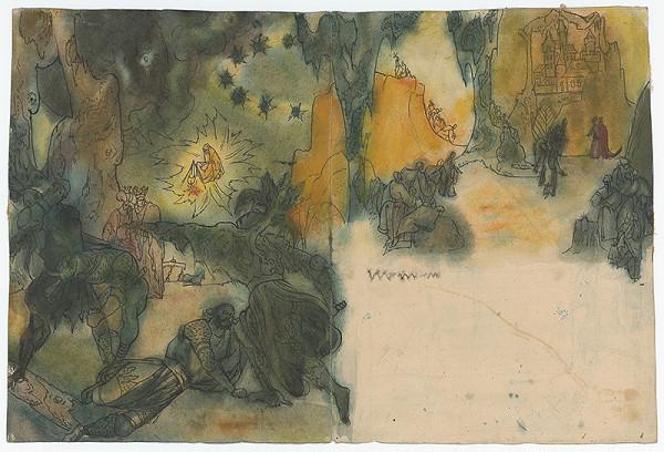 Ján Novák - Double-Page Spread Illustration for a Fairytale