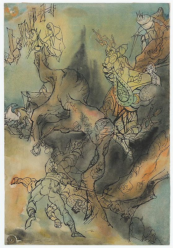 Ján Novák - Story for a Full-Page Illustration for a Fairytale