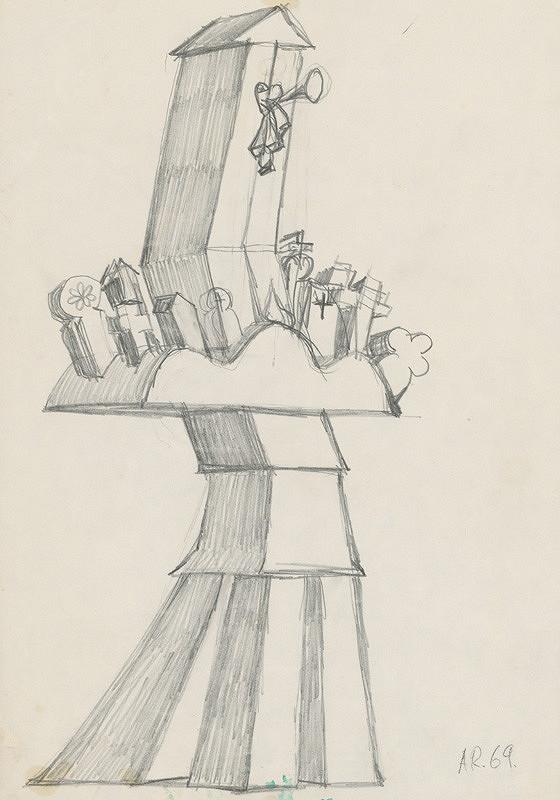 Andrej Rudavský – Kaplnka s náhrobníkmi