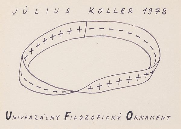 Július Koller – Universal Philosophical Ornament (U.F.O.)