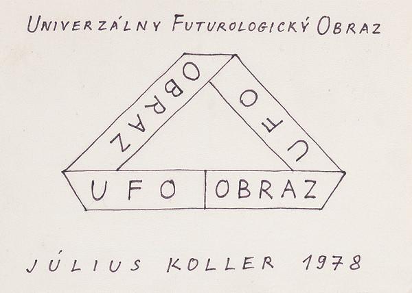 Július Koller - Universal Futurological Picture (U.F.O.)