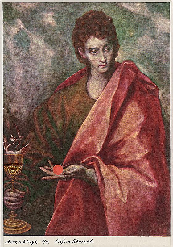 Štefan Schwartz - El Greco, San Juan Evangelista // Soll ich es?