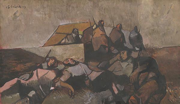 Vincent Hložník – Partisans Resting