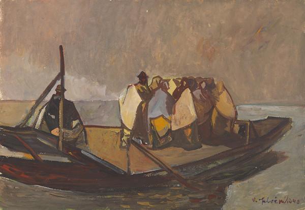 Vincent Hložník – Refugees (On a Ferry)