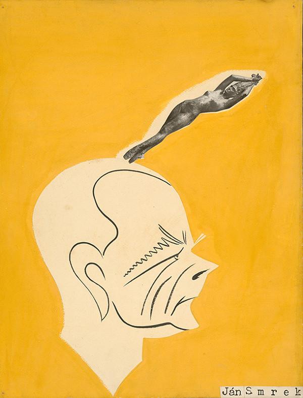 Alexander Richter – Caricature of Ján Smrek
