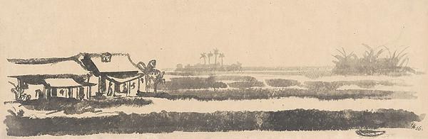 Ľubomír Kellenberger – Landscape from the Red River Delta