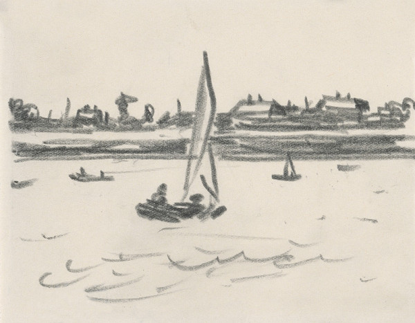 Peter Matejka – Study of Sailboats V. (Senec Motif)