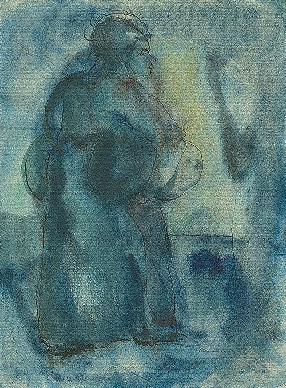 Ladislav Čemický – Old Woman