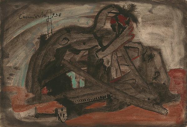 Ladislav Čemický – Abstract Composition