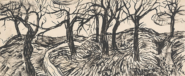 Ervín Semian – Trees