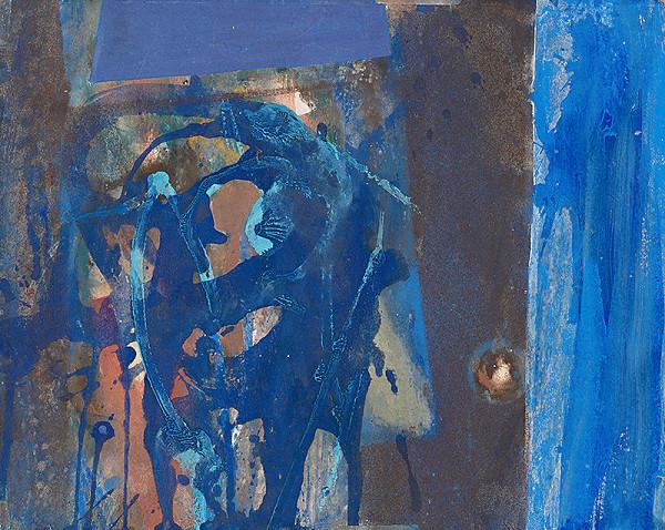 Rudolf Fila - Study (Blue)
