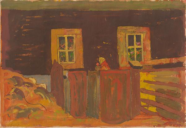 Miloš Alexander Bazovský – Outside the Cottage