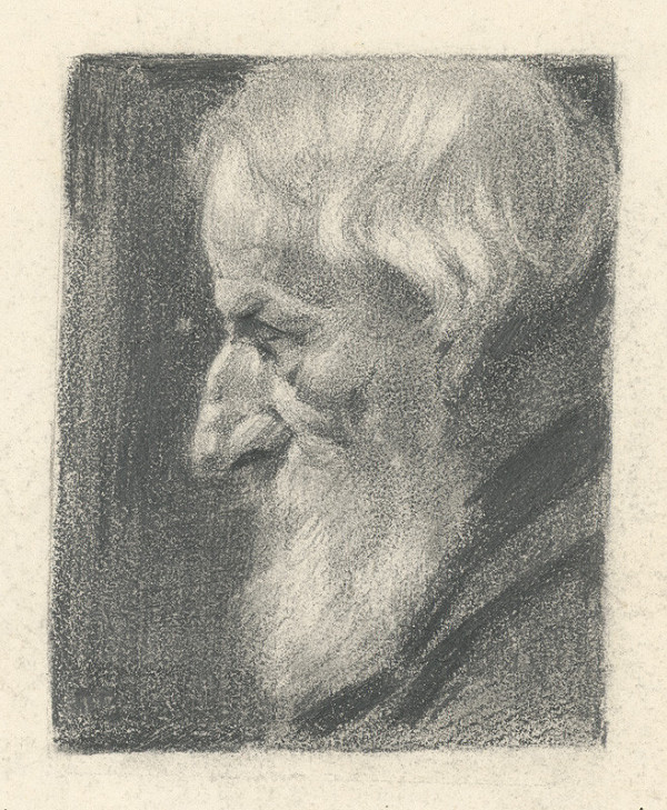 Jaroslav Augusta - Head of an Old Man
