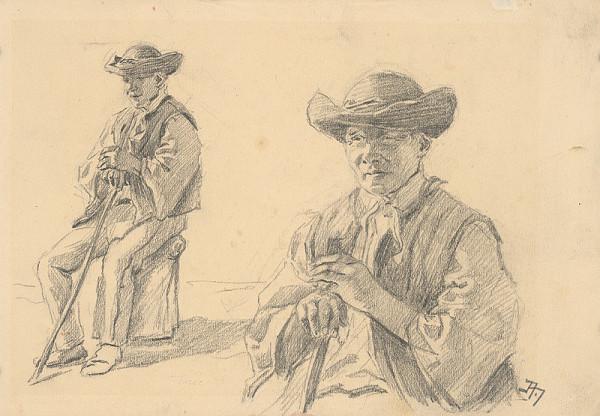 Jaroslav Augusta – Two Studies of a Boy