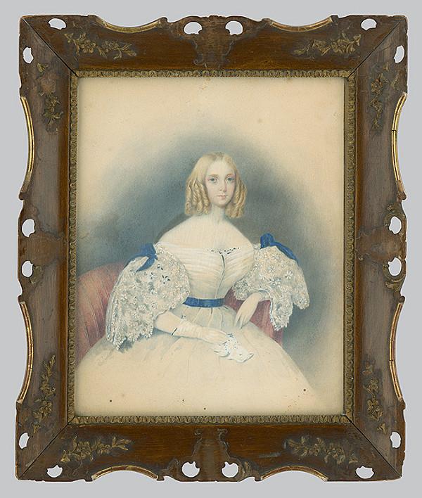 Joh. Heinruck - Portrait of a Woman
