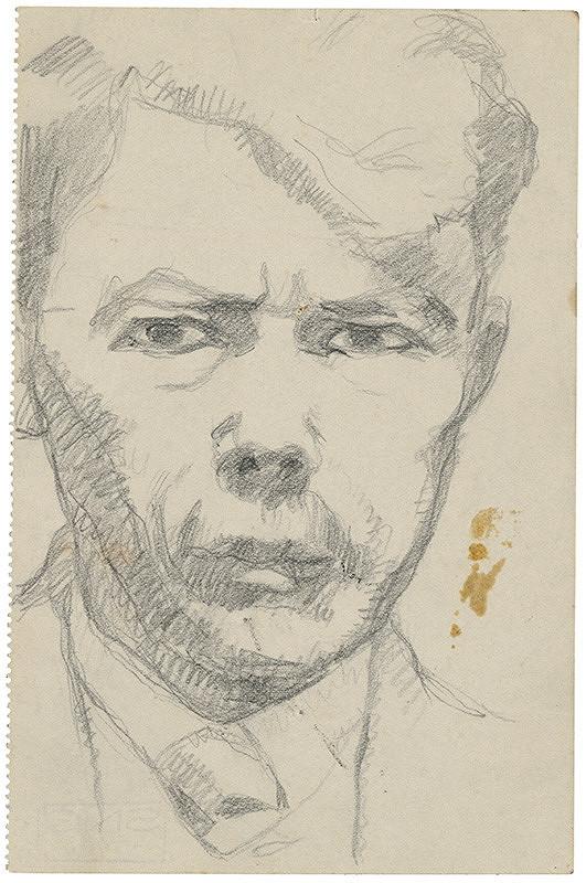 Július Koreszka – Self-Portrait