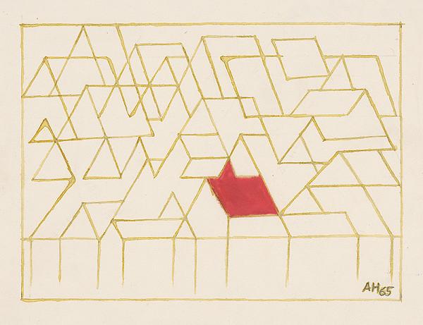 Adolf Hoffmeister – Red Roof
