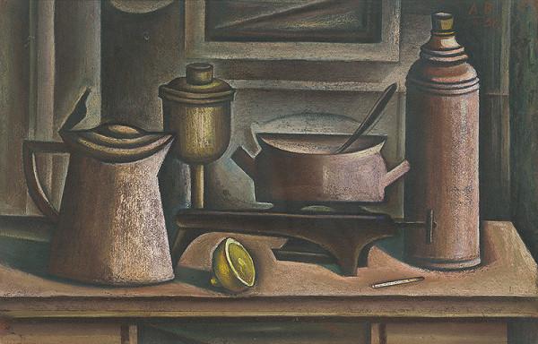 Andrej Barčík – Still Life with a Cooker