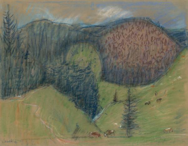 Jozef Šturdík - Middle Slovakia Landscape II.