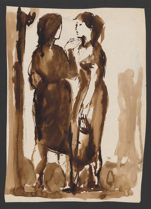 Ernest Špitz – Two Women
