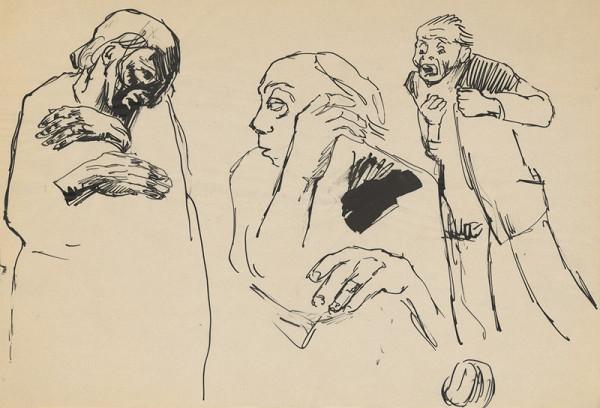 Ernest Špitz – Three Old Men