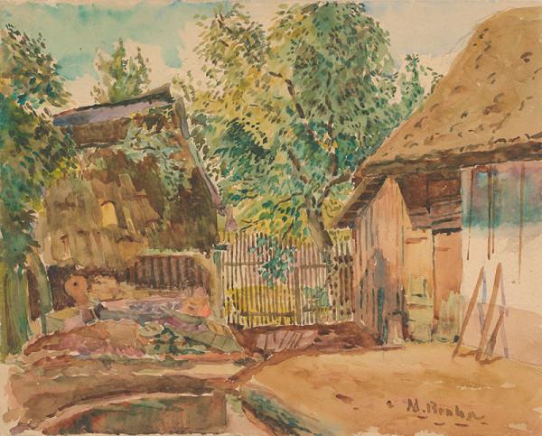 Martin Benka - Farm Yard