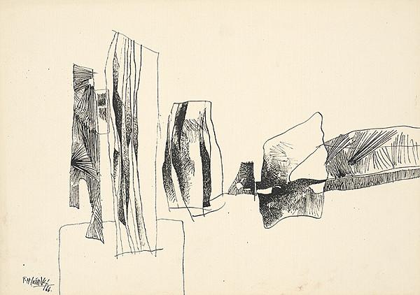 Ferdinand Hložník - Drawing XIII.
