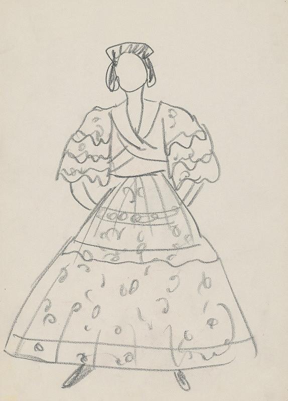 Eugen Nevan – Female Costume Design XXV.