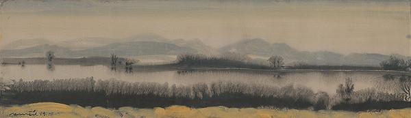 Július Nemčík - The Wide Váh River
