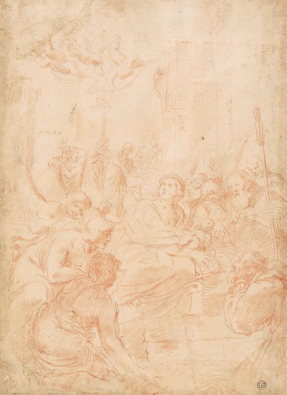 Taliansky majster z polovice 17. storočia – Svätá rodina