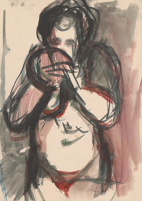 Jozef Šturdík – Female Nude