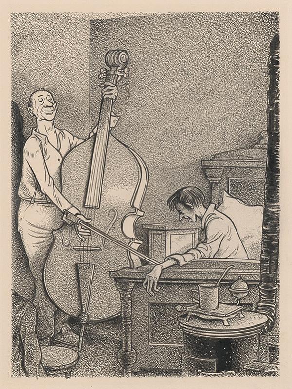 Viliam Weisskopf – Playing the Bass