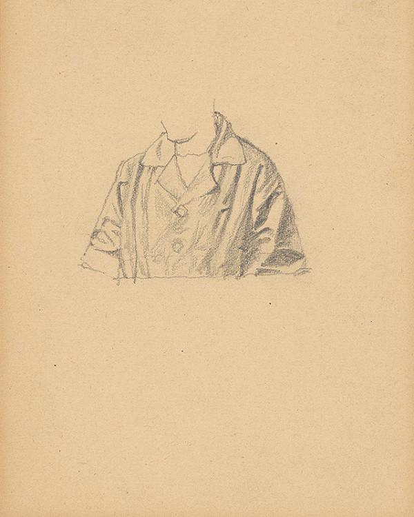 Ivan Žabota – Study of a Man's Coat