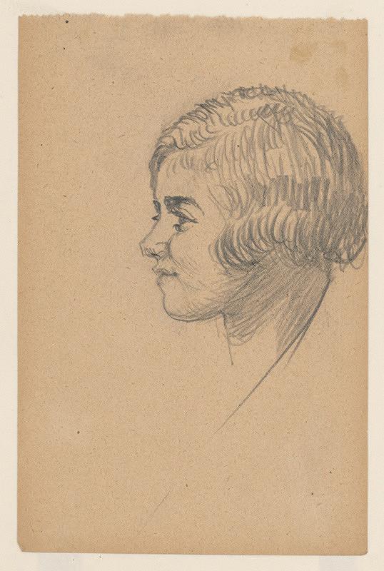 Ivan Žabota – Woman's Head