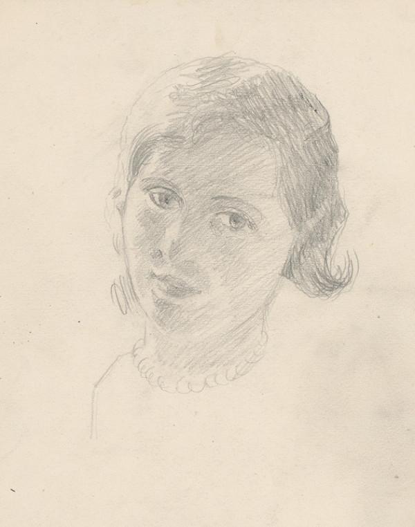 Ivan Žabota – Podobizeň mladého dievčaťa