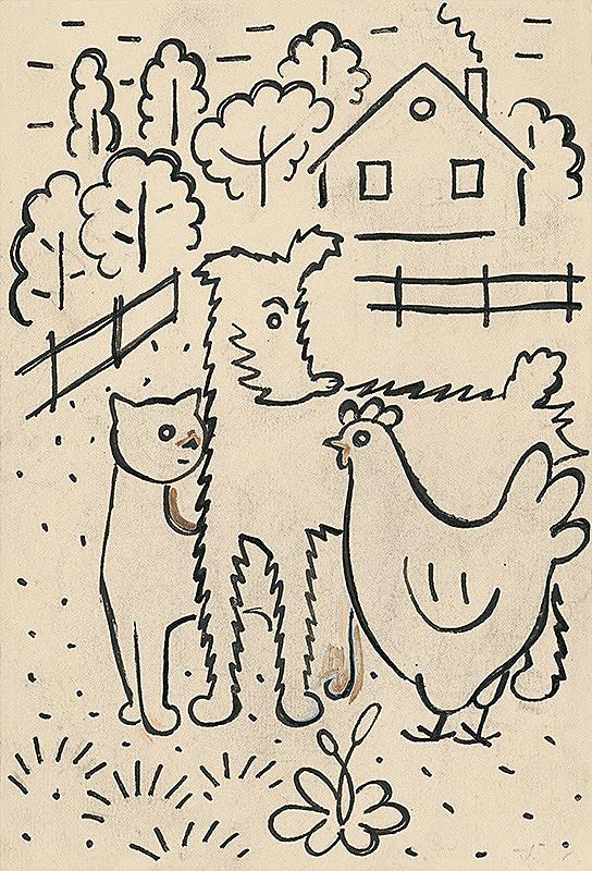 Josef Čapek – 14. I Had a Dog and a Cat