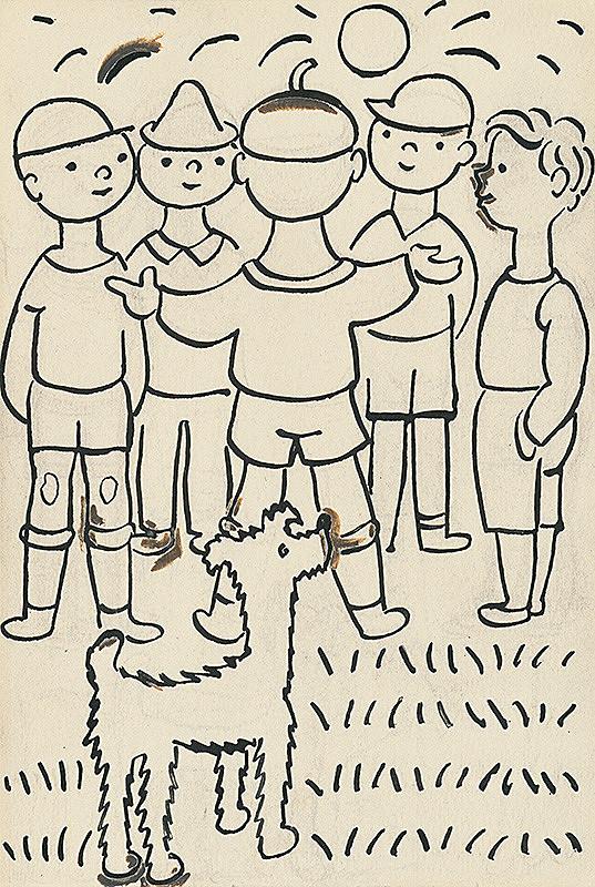 Josef Čapek – 30. I Had a Dog and a Cat