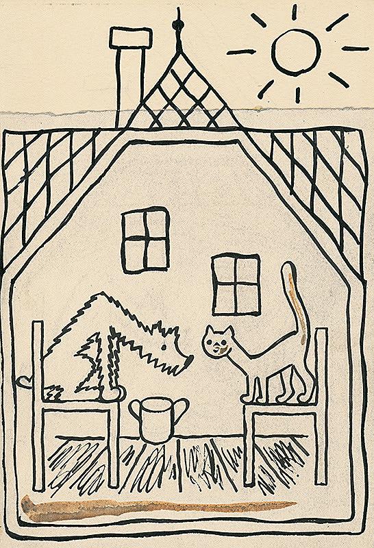 Josef Čapek – 39. I Had a Dog and a Cat